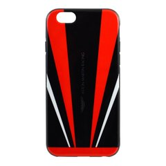 Чехол-накладка Aston Martin PC для iPhone 6/6S Black/Red