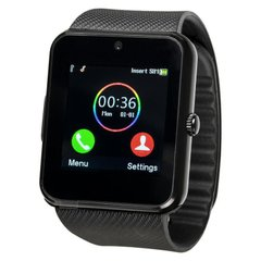 Smart Watch GT-08 Black with Sim MicroSD Camera