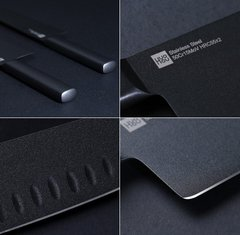 Набор ножей Xiaomi Huo Hou Black non-stick heat knife 2 ножа